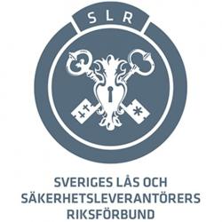 Sveriges lås och säkerhetsleverantörers riksförbund logo